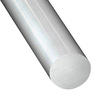Perfil Forma Redonda De Aluminio En Bruto En Bruto Leroy Merlin