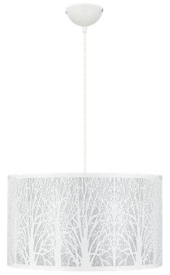 Lámpara de techo INSPIRE Forest blanca 3 luces Ø40 cm