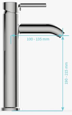XL ( recomendado para lavabos de sobreponer < de 38cm de altura )