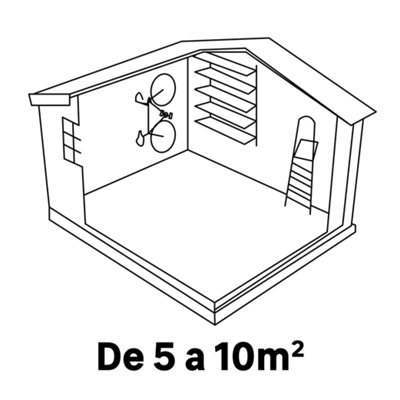 5 - 10m²