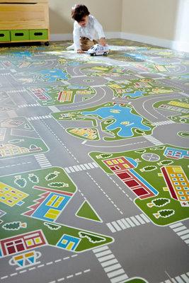 Alfombras de carreteras infantiles · LEROY MERLIN