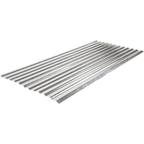 Placa de metal galvanizado onda pequeña 900 x 2000 mm