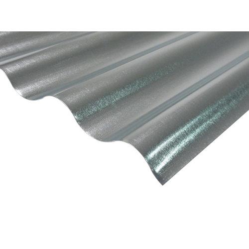 Placa de metal galvanizado onda pequeña 900 x 2500 mm