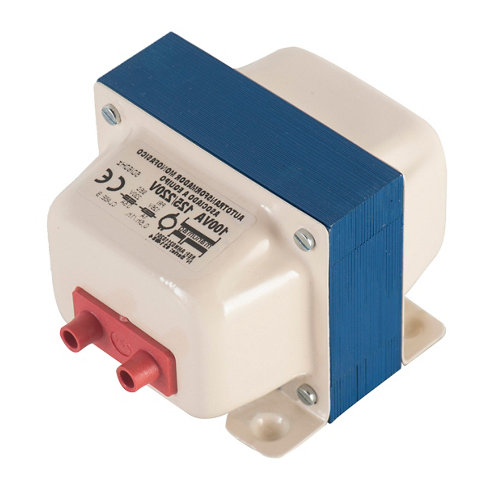 Transformador monofásico 125v/220v hasta 100 watios
