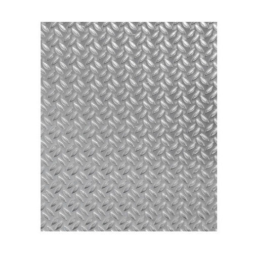 Chapa aluminio bruto grano arroz 500x500