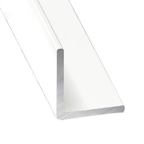 Perfil forma en l de aluminio lacado lacado
