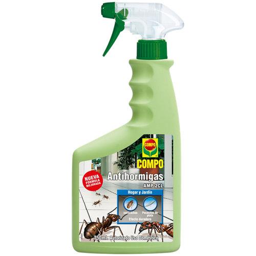 Antihormigas pistola compo para insectos rastreros uso interior y exterior 750ml