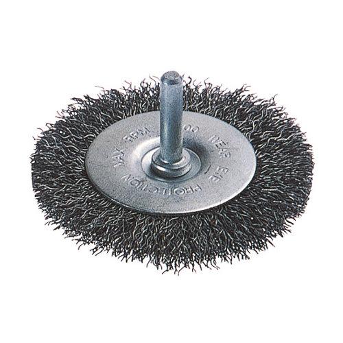 Cepillo para taladro wolfcraft para metal