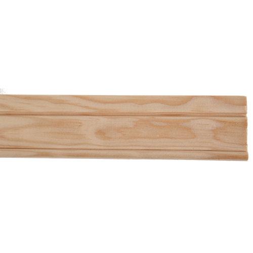Jamba clasica maciza de pino 68x9 mm x 2,40 m (ancho x grueso x largo)