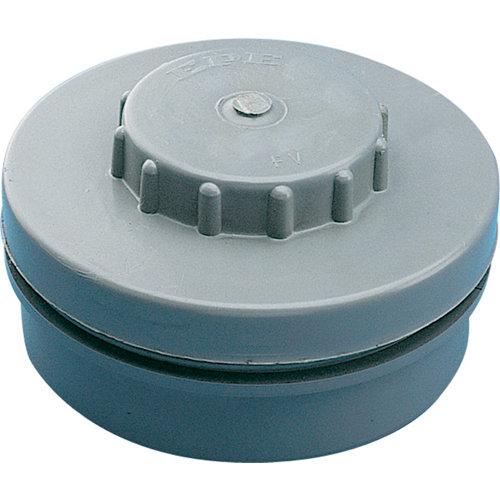 Tapón registro rosca de pvc de ø90 mm