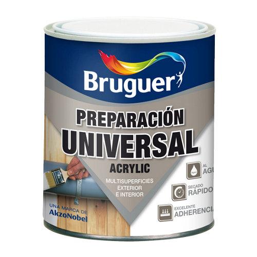 Imprimación - selladora universal bruguer de 0,75l color blanco