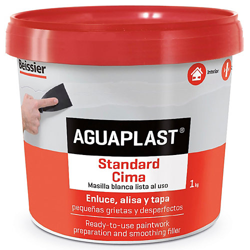 Masilla aguaplast standard cima 1kg