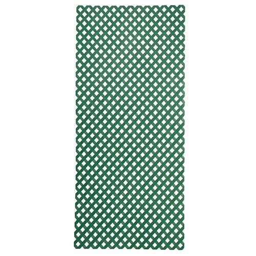 Celosía fija de pvc privat verde 200x100 cm