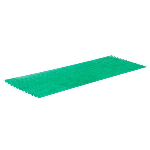 Placa de poliéster onda pequeña 900x2500x7 mm