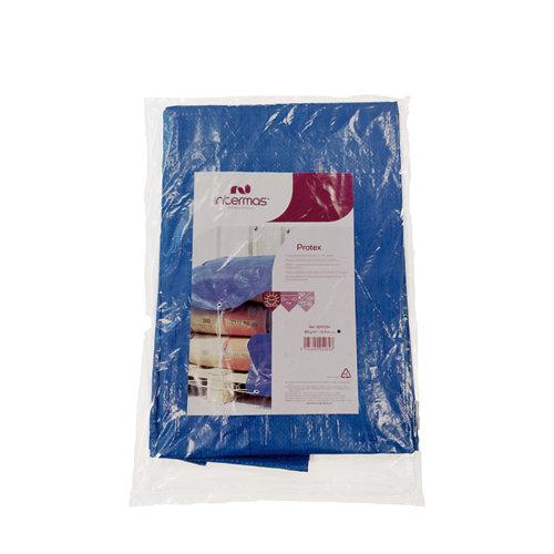 Lona de protección azul 3x5 m 120 gramos