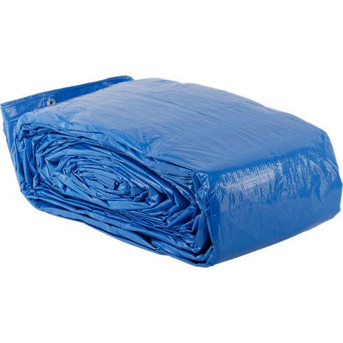 Lona de protección azul de 10x14 m