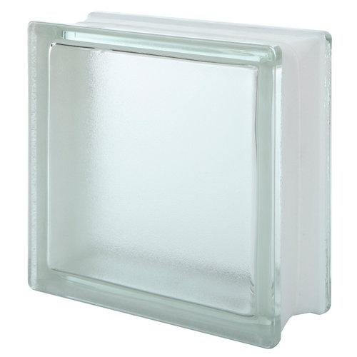 Bloque de vidrio arctic 19x19x8 cm