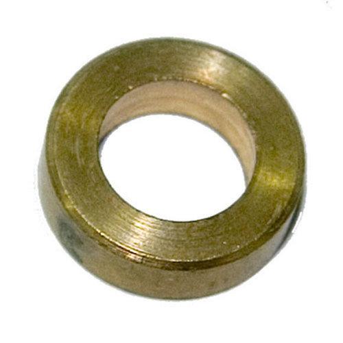 6 arandelas en acero latonado para pernios de 9.5 cm. de hierro