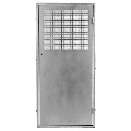 Puerta para registro eléctrico de acero galvanizado 76x146cm