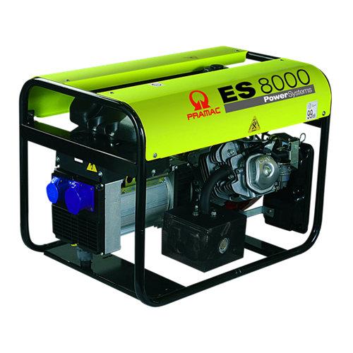 Generador pramac es-8000 gasolina sin plomo de 5500 w