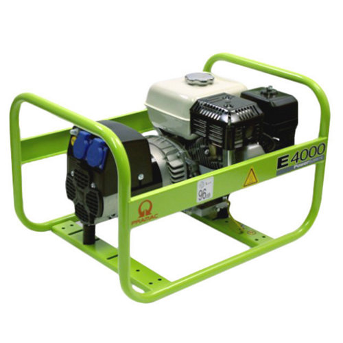 Generador pramac e4000 gasolina sin plomo de 2600 w