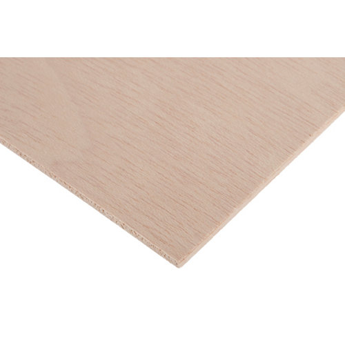 Tablero de contrachapado crudo 40x80x0,5 cm (anchoxaltoxgrosor)