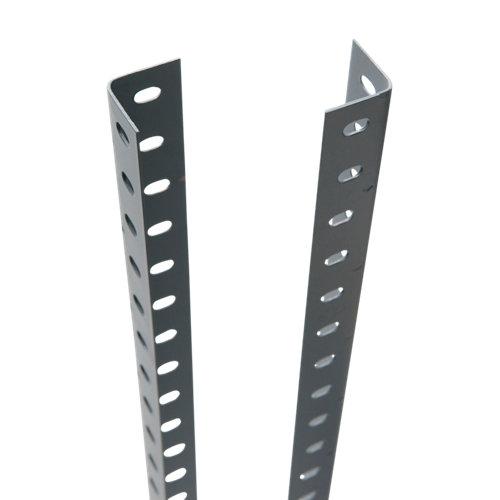 perfil para estantería metálica de acero de 250 cm de alto