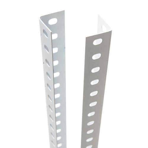 perfil para estantería metálica de acero de 200 cm de alto