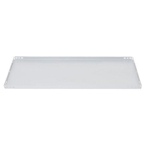 balda para estantería metálica de acero de 3.2x60x40 cm