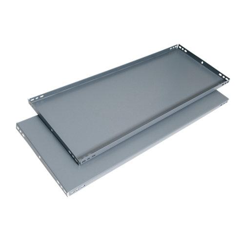 balda para estantería metálica de acero de 3.2x80x50 cm