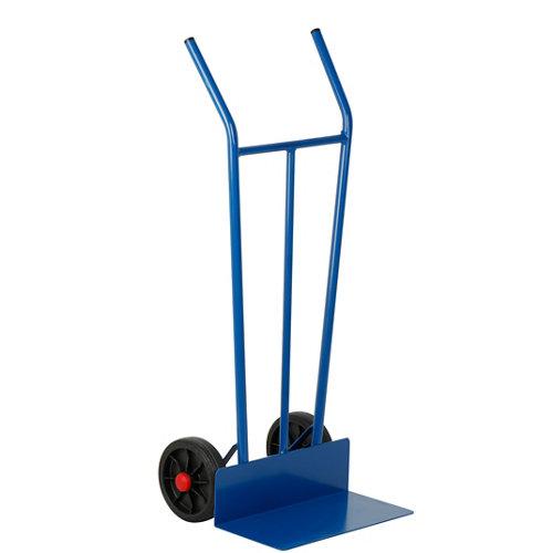 Carretilla rígida con ruedas macizas y 150 kg de carga máxima