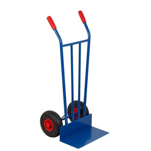 Carretilla rígida con ruedas hinchables y 200 kg de carga máxima