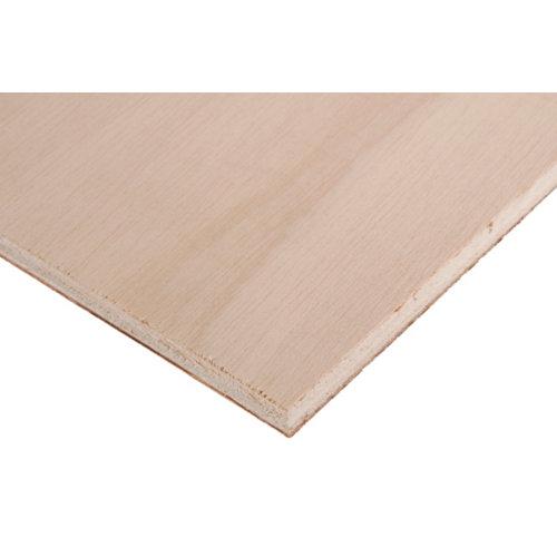 Tablero de contrachapado crudo 60x120x1 cm (anchoxaltoxgrosor)