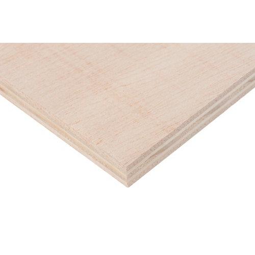 Tablero de contrachapado crudo 40x80x1,5 cm (anchoxaltoxgrosor)