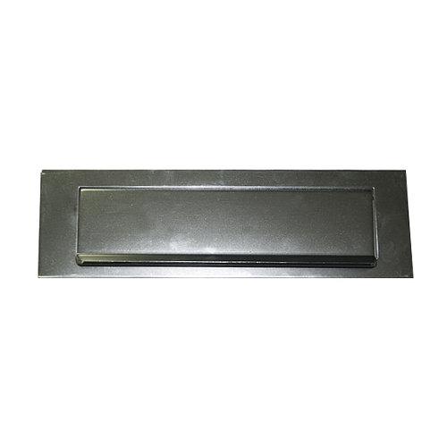 Bocacartas de aluminio de 25x75x2 cm