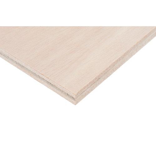 Tablero de contrachapado crudo 30x60x1 cm (anchoxaltoxgrosor)
