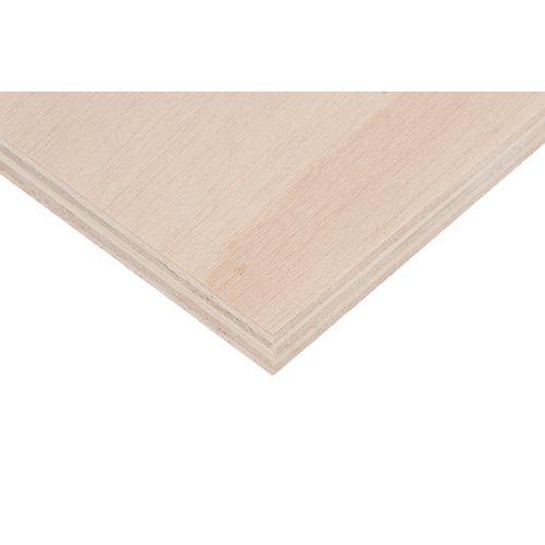 Tablero de contrachapado crudo 30x60x1,5 cm (anchoxaltoxgrosor)