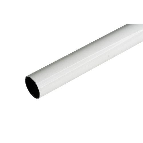 Barra armario redonda de 1 m de largo y 25 mm ø
