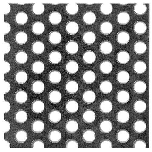 Chapa metálica de acero de 25x50 cm y 0.1 mm espesor