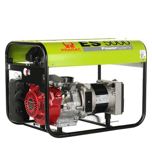 Generador pramac e3200 gasolina sin plomo de 3900 w