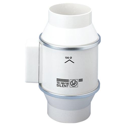 Extractor de cocina helicoidal td-160/100