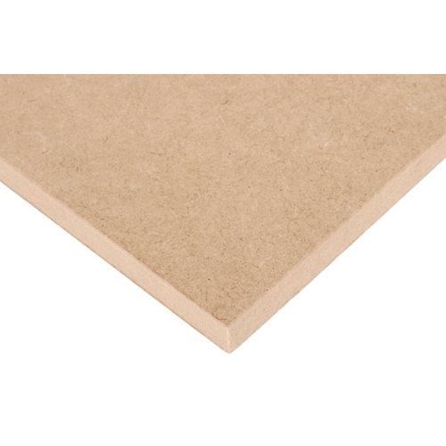 Tablero de mdf crudo 30x60x1,6 cm (anchoxaltoxgrosor)