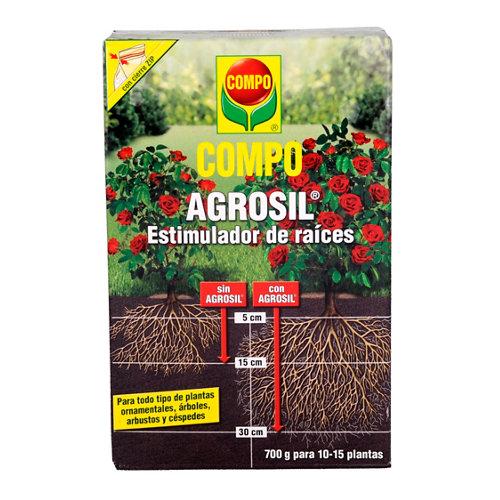 Estimulador raíces compo agrosil plantas ornamentales, arbustos y césped 700gr