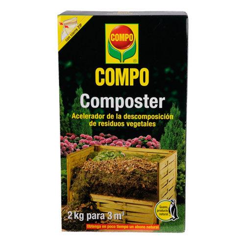 Activador del compostaje compo composter de residuos vegetales 2kg