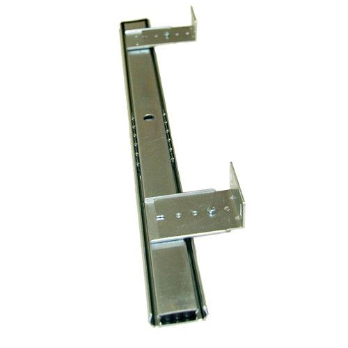 Guía portateclado de acero cincado de 70x400 mm