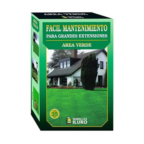 Césped fácil mantenimiento iluro 1 kg para terrenos de hasta 35 m²