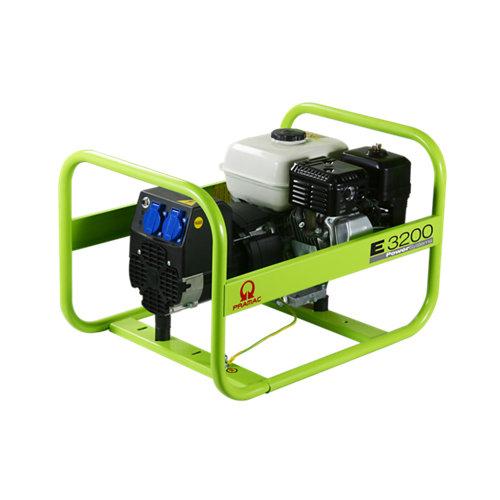 Generador pramac e3200 gasolina sin plomo de 2200 w