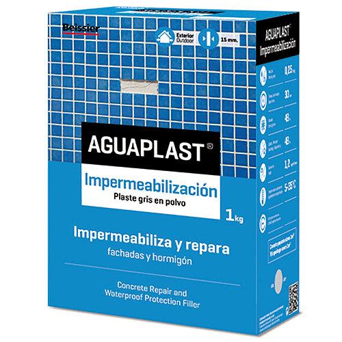 Plaste en polvo aguaplast impermeabilizacion 1kg