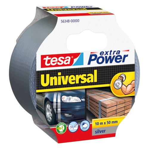 Cinta adhesiva de reparación extra power plata 10m x 50mm