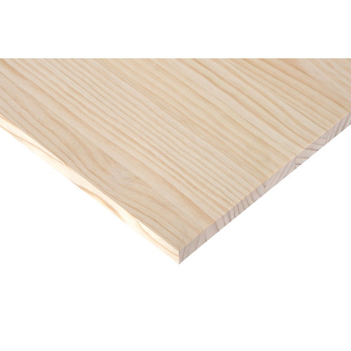 Tablero macizo de pino de 40x240x1,8 cm